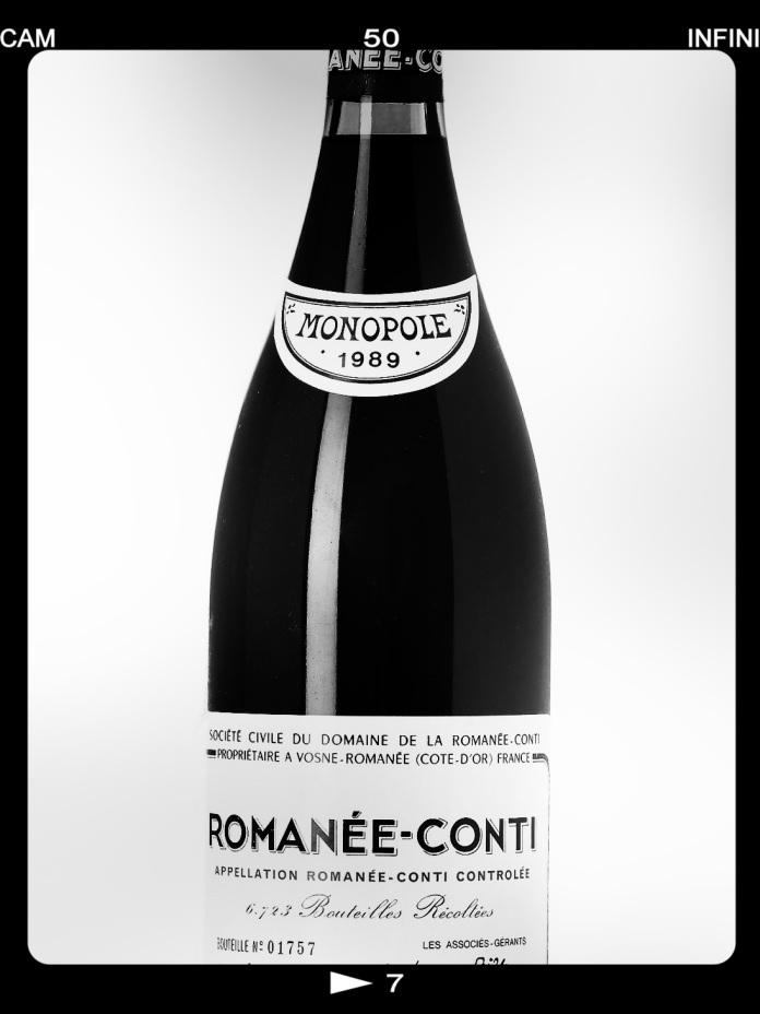 Romannée-Conti'89 magnum