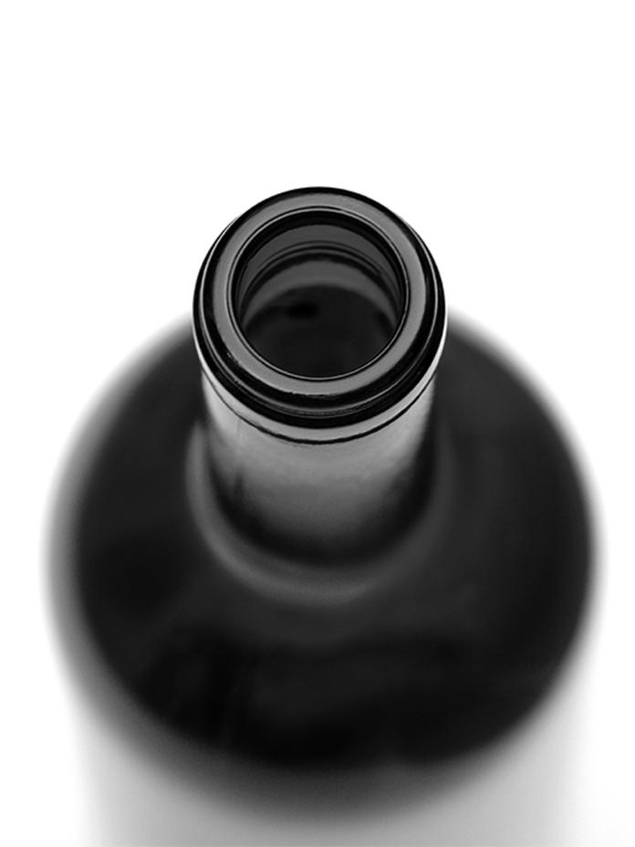 Flaska, svart-vit1