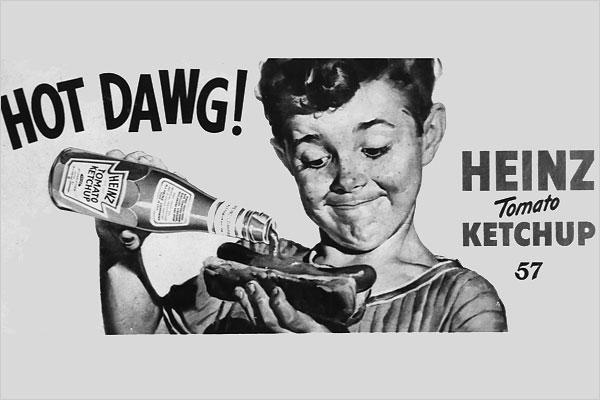 Heinz ketchup old-school